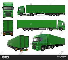 Set Large Green Truck Image & Photo (Free Trial) | Bigstock