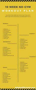 Best 25 At home workout plan ideas on Pinterest