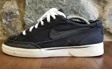 Vintage Nike GTS Canvas Tennis Shoes Mens Size 105 Black