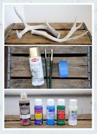 DIY ANTLER BRACELET HOLDER