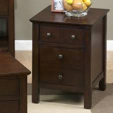 Cherry End Table With Drawer Foter