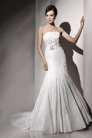 Fabulous Strapless Fishtail Sample Wedding Gown With Lots Of Rouching Off The Peg We Have This Dress In All Ivory Taffeta Designed And Made Europe