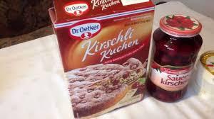 dr oekter kirschli kuchen backmischung