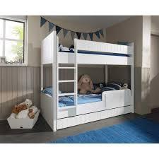 lits superposes d angle lit superposé d angle avec tiroirs coloris bois nature