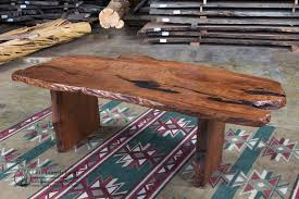 Natural Wood Dining Table Rustic