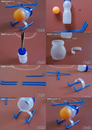 How To Use Recycled Water Bottle Make Helicopter Toy Step By DIY Instructions