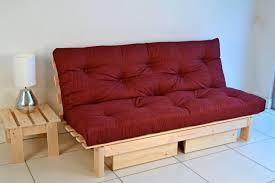 kebo futon sofa bed red trubyna info
