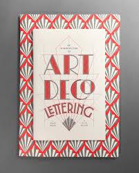 deco typography history deco lettering workshop nick misani