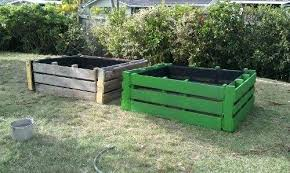 Garden Beds Made From Pallets Making Structures Grow Out Of