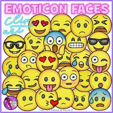 Emoji Clip Art Smiley Faces Emoticons Clipart