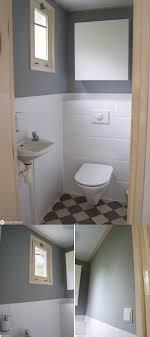gäste wc makeover mit kalkfarbe leben in den niederlanden