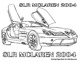 Fast Cars Coloring Pages Printable