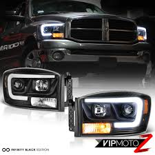 06-08 Dodge Ram 1500 Pickup Truck Black LED DRL Tube Projector ... Diode Dynamics Dd2015 Dodge Ram Daytime Running Light Switchback Body Painted Headlights Trucks Pinterest Rams 9401 Ram 1500 2500 3500 Oem Style Crystal Chrome 2009 14 Quad Halo Install Package 2010 Reviews And Rating Motor Trend Smoked Black Projector 0609 Recon Lumen Sb7697hlchr 7x6 Rectangular Led Fit 092018 1018 Headlight Doorsbezels Mopar Upgrades Anzo Truckin 15 06 For 2018 Saintmichaelsnaugatuckcom Ubar 62008
