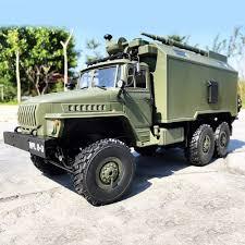 100 Trucks On Ebay WPL B36 Ural 116 24G 6WD RC Car Military Truck Rock Crawler