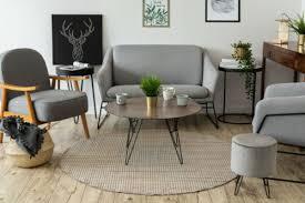 modern sisal carpet nature circle boho beige easy