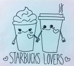Drawing Kawaii And Starbucks Image