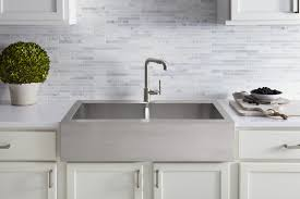 Kohler Whitehaven Sink Rack by Best Farmhouse Sinks How To Choose An Apron Front Sink That Will
