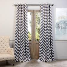 Tahari Home Curtains 108 by Exclusive Fabrics U0026 Furnishings Semi Opaque Anthracite Grey