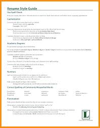 Resume Incomplete Education 9 How To List Associate Degree On Type Examples
