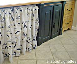 Making A Swing Arm Curtain Rod by All About Vignettes Another Laundry Pantry Change Up