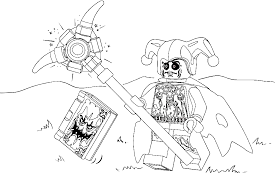 Free Lego Nexo Nights Coloring Pages To Print For Kids Download And Color Ant Man