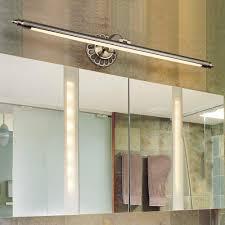 spiegelleuchten bronze 90cm led spiegelle retro