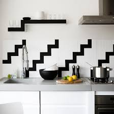 black and white kitchen wall tiles flooring ideas