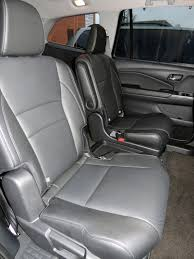 Honda Pilot Touring Captains Chairs by Family Friendly 2016 Pilot Sheds Trucky Styling Wheels Ca