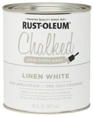 Rust-Oleum Ultra Matte Interior Chalked Paint - Linen White, 30oz