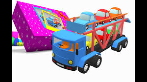 100 Toy Car Carrier Truck Box Rier YouTube