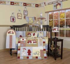 Fire Truck Crib Bedding