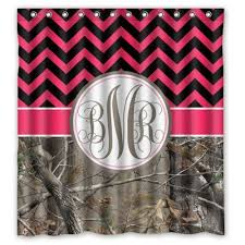 Chevron Print Shower Curtains by 22 Best Pink Chevron Shower Curtain Images On Pinterest Chevron