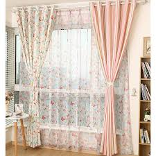 Pale Pink Curtains Vintage Pale Pink Curtains Shabby Chic