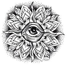 Free Mandala Coloring Pages For Adults Printable Mandalas Color Colouring Online Full Size