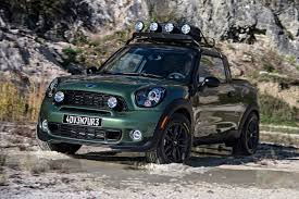 MINI Paceman Adventure Pickup Truck Makes You Say