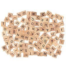 Printable Individual Scrabble Tiles by Amazon Com Scrabble Tiles 100 Letter Tiles Toys U0026 Games