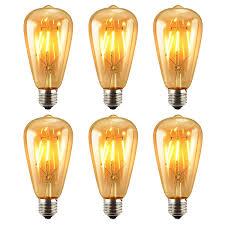 antique led bulbs vintage edison dimmable led light bulbs pack