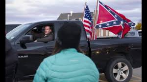 Cop Flies Confederate Flag At Anti-Trump Protest - YouTube Michigan School Says Trucks With Confederate Flags Were Potentially Flag Group Charged With Terroristic Threats Nbc News Shut After Flagbearing Truck Gatherings Fox Photos Clay High Schooler Told To Take Down From A Guy His And The West Salem Students Force Frdomofspeech Shdown Display Of Flags Fly At Hurricane High Education Some Americans Still Despite Discnuation The Rebel Flag Isnt About Its Identity Peach Pundit Raw Video Rally Birthday Partygoers Clashing 100 Blankets Given By Gunfire Heard Near Proconfederate In Ocala Wftv