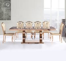 Perfect Marble Dining Table Set Luxury Rose Gold Restaurant Furniture Buy And Chair Singapore Malaysium Uk Harvey Norman Sydney Melbourne