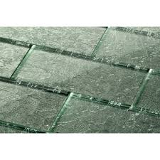 frosted mirror tiles 3 x 6 silver glass tile