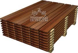 Wood Decking Boards by Tigerwood Decking Comparison