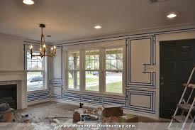 Dining Room Picture Frame Molding Amtframe Org