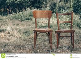 Wooden Chair, Wooden Chair Twin, Pair Old Wooden Chair Outdoors ...
