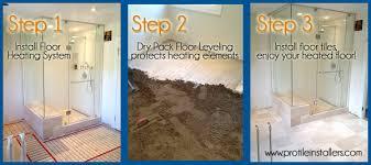 heated floors installation toronto radiant floor heating installers