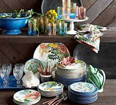 Like A Beautiful Floral Centerpiece, This Dinnerware Brings The ... Ding Beautiful Colors And Finishes Of Stoneware Dishes 2017 Best 25 Outdoor Dinnerware Ideas On Pinterest Industrial Entertaing Area The Sunny Side Up Blog Dinnerware Yellow Create My Event Drinkware Rustic Plate Plates And 11 Melamine Cozy Table Settings Stress Free Plum Design Red Platters Serving Tiered Pottery Barn