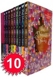 Image Is Loading The Princess Diaries Collection 10 Books Set Meg