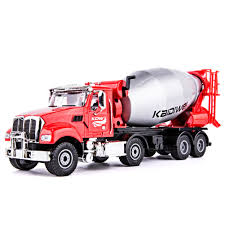 100 Toy Cement Truck KDW 150 Mixer Vehicle Cars Model Alloy Concrete Mixer