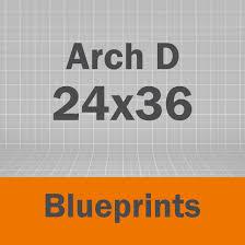 100 Arch D Blueprints CentralPCG