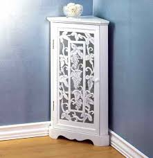 Tall Bathroom Corner Cabinets With Mirror by Corner Bathroom Cabinet Designs U2013 Home Design Ideas
