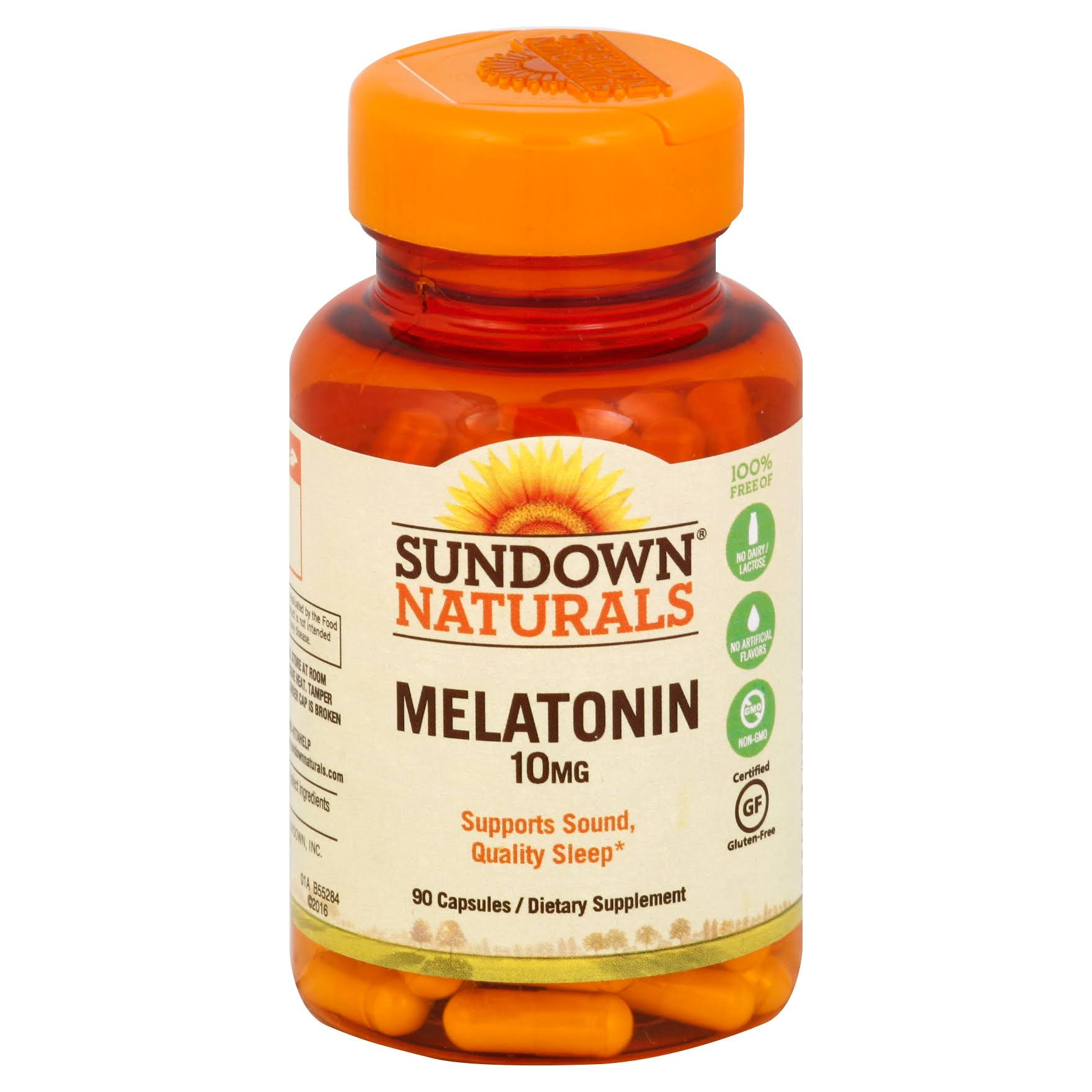 Sundown Naturals Melatonin - 10mg, x90